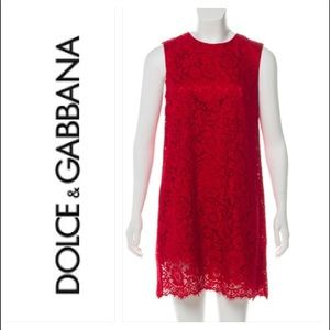 Dolce & Gabbana red lace dress ❤️